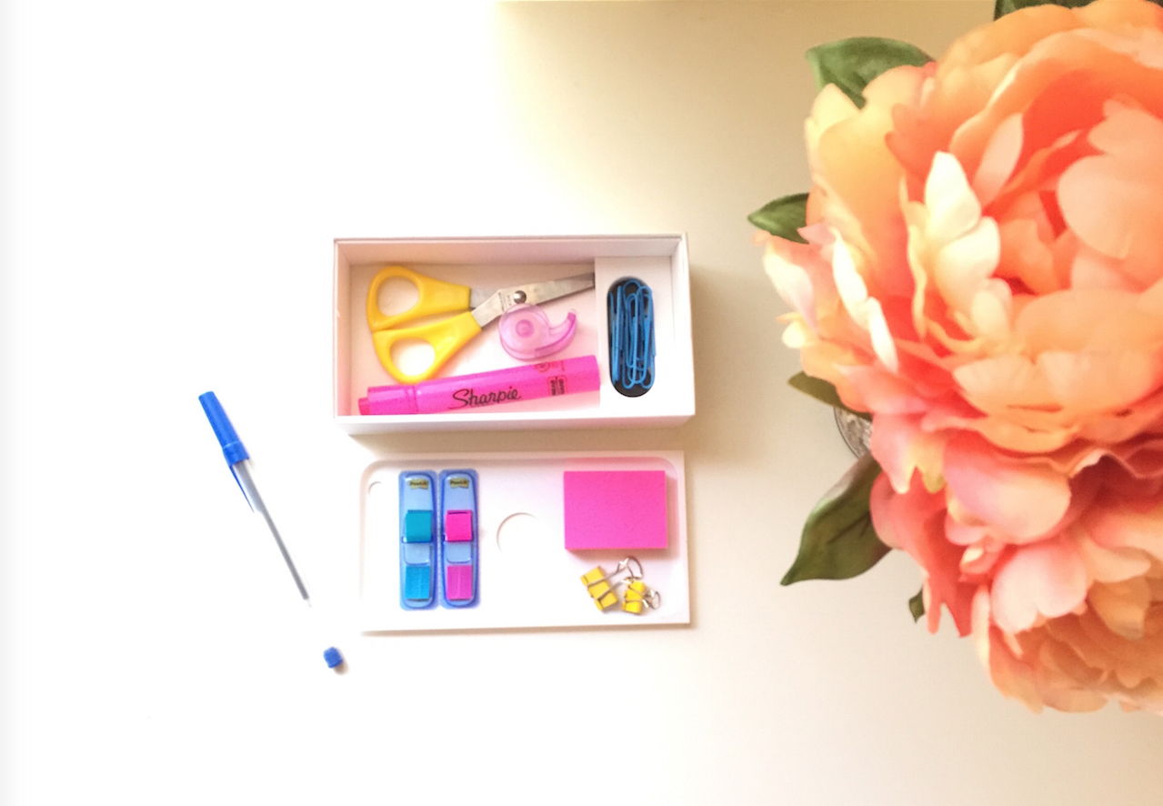 How to Create a Desk Organizer from an iPhone Box! (And Bonus Coupon/Receipt Organizer)
